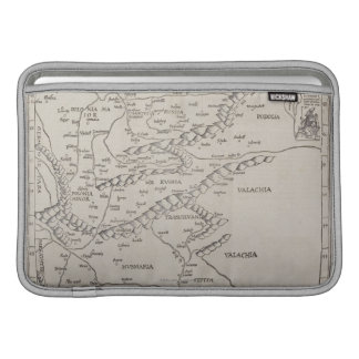Antique Map of Eastern Europe Sleeve For MacBook Air