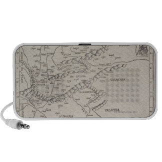 Antique Map of Eastern Europe Mp3 Speakers