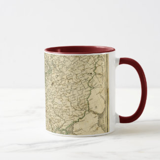 Antique Map of Europe Mug