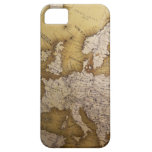 Antique map of europe. Old world. iPhone 5 Cases