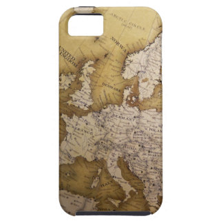 Antique map of europe. Old world. iPhone 5 Covers