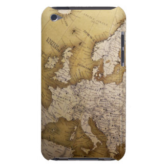 Antique map of europe. Old world. iPod Case-Mate Case