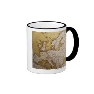 Antique map of europe Old world Mugs