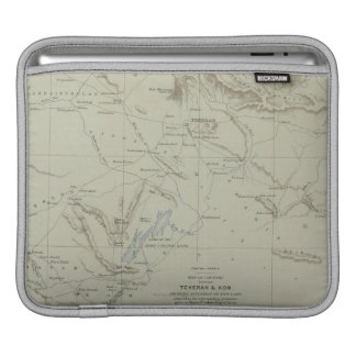 Antique Map of Iran iPad Sleeve