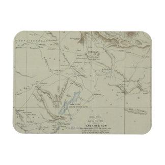 Antique Map of Iran Magnet