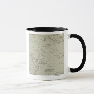 Antique Map of Iran Mug