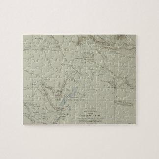 Antique Map of Iran Puzzle