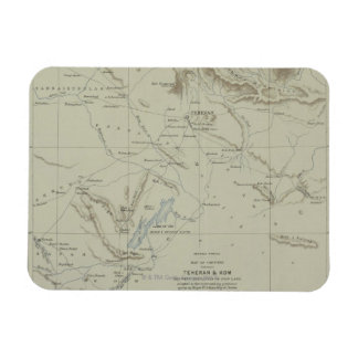 Antique Map of Iran Rectangular Photo Magnet