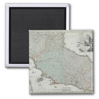 Antique Map of Lazio, Italy Magnets