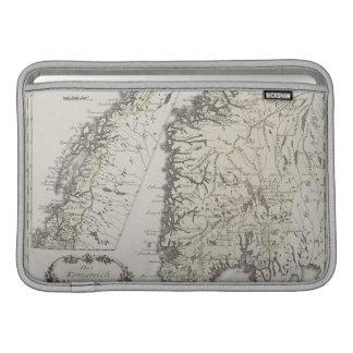 Antique Map of Norway MacBook Sleeve