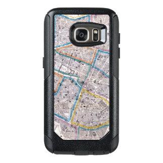 Antique Map of Paris OtterBox Samsung Galaxy S7 Case
