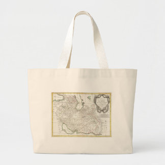 Antique Map of Persia- Iran Afghanistan Iraq Tote Bags