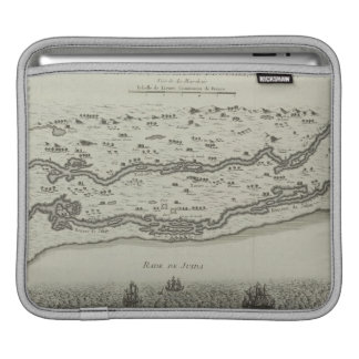 Antique Map of Persian Gulf iPad Sleeve