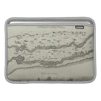 Antique Map of Persian Gulf MacBook Sleeve