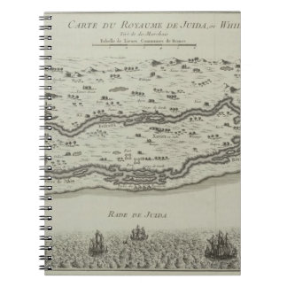 Antique Map of Persian Gulf Notebook