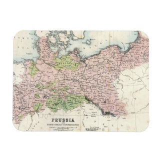Antique Map of Prussia Magnet