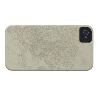 Antique Map of River Systems iPhone 4 Cover
