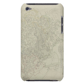 Antique Map of River Systems iPod Touch Case-Mate Case
