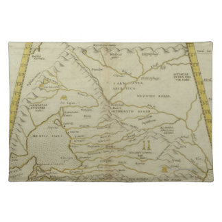 Antique Map of Russia Placemat
