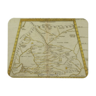 Antique Map of Russia Magnets