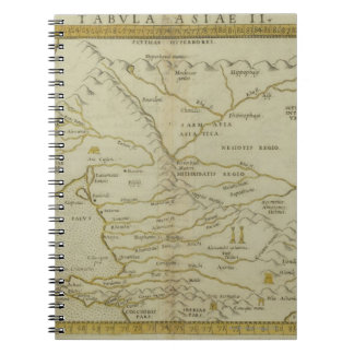 Antique Map of Russia Spiral Notebook