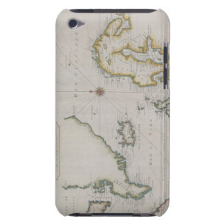 Antique Map of Scandinavia 2 Barely There iPod Cover