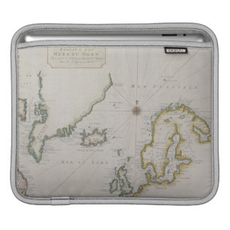 Antique Map of Scandinavia 2 iPad Sleeve