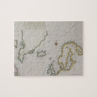 Antique Map of Scandinavia 2 Jigsaw Puzzle