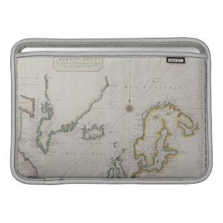 Antique Map of Scandinavia 2 MacBook Air Sleeve