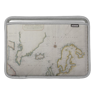 Antique Map of Scandinavia 2 MacBook Sleeve