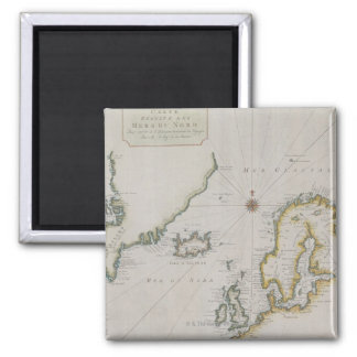 Antique Map of Scandinavia 2 Magnet