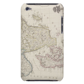 Antique Map of Scandinavia Barely There iPod Cover