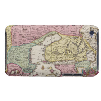 Antique Map of Sweden 2 iPod Touch Case-Mate Case