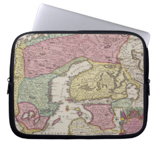Antique Map of Sweden 2 Laptop Sleeve