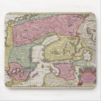 Antique Map of Sweden 2 Mouse Mat