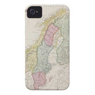 Antique Map of Sweden Case-Mate iPhone 4 Case