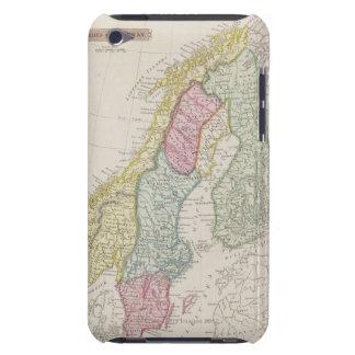 Antique Map of Sweden iPod Case-Mate Case