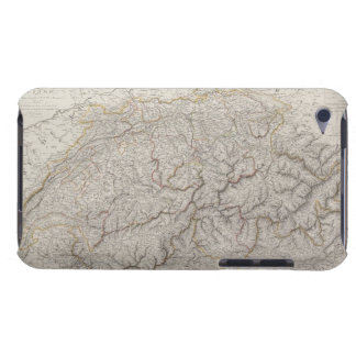 Antique Map of Switzerland Barely There iPod Cases