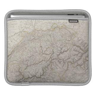 Antique Map of Switzerland iPad Sleeve