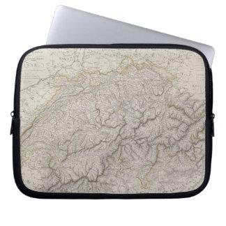 Antique Map of Switzerland Laptop Sleeve