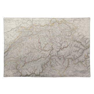 Antique Map of Switzerland Placemat