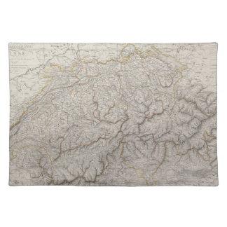 Antique Map of Switzerland Placemat