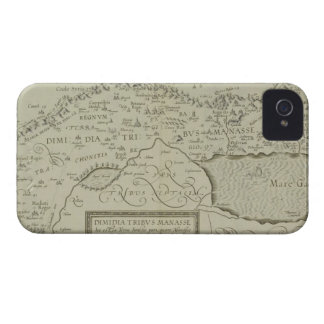 Antique Map of the Holy Land iPhone 4 Cover