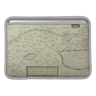 Antique Map of the Holy Land MacBook Sleeve