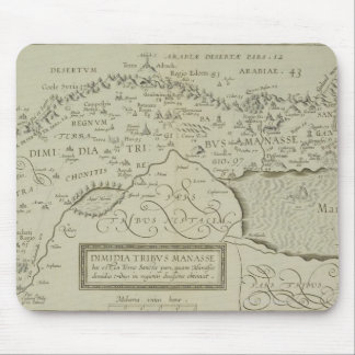 Antique Map of the Holy Land Mouse Pad