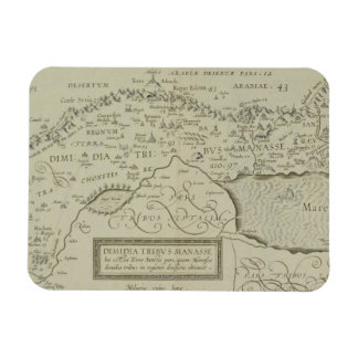 Antique Map of the Holy Land Rectangular Photo Magnet