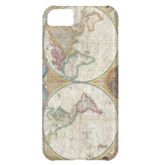 Antique map of the world beautiful detailed, gift iPhone 5C case