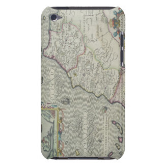 Antique Map of West Africa iPod Case-Mate Case