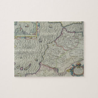 Antique Map of West Africa Jigsaw Puzzle