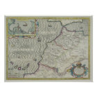 Antique Map of West Africa Poster